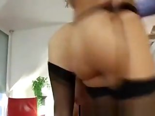 Threesome For Mature British Lady In Stockings And Husband