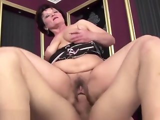 Flimsy adult gets aggravation fucked and creampie