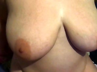 Natural shove around slut pov fingering her pussy outdoors