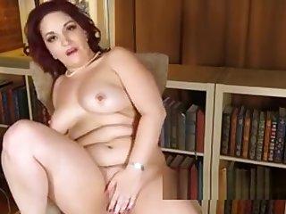 Sexy Curvy Milf Megyn Debuts Heavens Aunt Judy's
