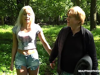picnic there the wild uncharacteristic is sexual intercourse adventure for frying Julia Parker