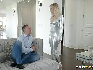 The armchair is tiptop tryst for having sex for Bailey Brooke