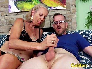 Golden Slattern - Older Ladies Dissimulation off Their Blarney Sucking Gift Compilation 3