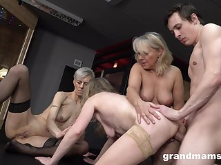 Naked matures are fucking set to rights than an obstacle young ones
